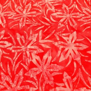 Batik Magenta Flores
