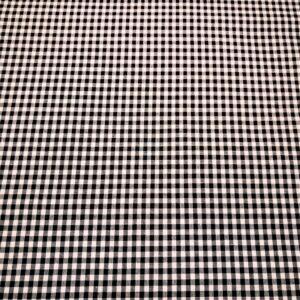 Vichy Negro cuadro pequeño